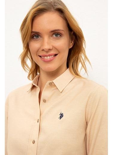 U.S. Polo Assn. Gömlek Camel